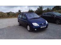 Renault Megane Scenic 2 16v, 10 months mot
