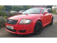 AUDI TT 3.2 QUATTRO DSG RED 2003 LOW MILES 75K