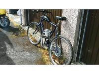 Bicyckle with 80cc petrol engine