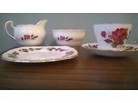 Colclough Rosebud Tea Set unused