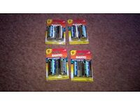 out of date batteries but still work size D/LR20/1.5 v 4 packs thats 8 batteries for £1
