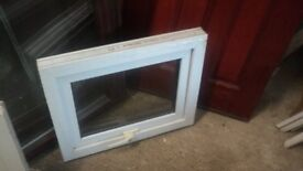 WHITE UPVC OPENING SMALL WINDOW 595MM X 470MM COVENTRY