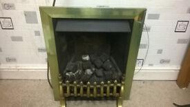 Modern Coal effect gas fire - fully working pls read discription