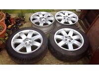 """Range Rover 20"""" Original Alloys Wheels VW T5 Camper Land Rover Discovery"""