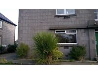 Two bedroom semi detached flat close to RGU.
