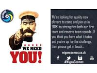 We Need YOU - 11-A-Side Men's Football - Wigan