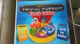 Trivial Pursuit Family Edition, Used once so mint Condition £5