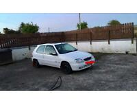 Saxo roll cage wanted
