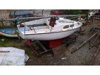 Hurley boat &trailer