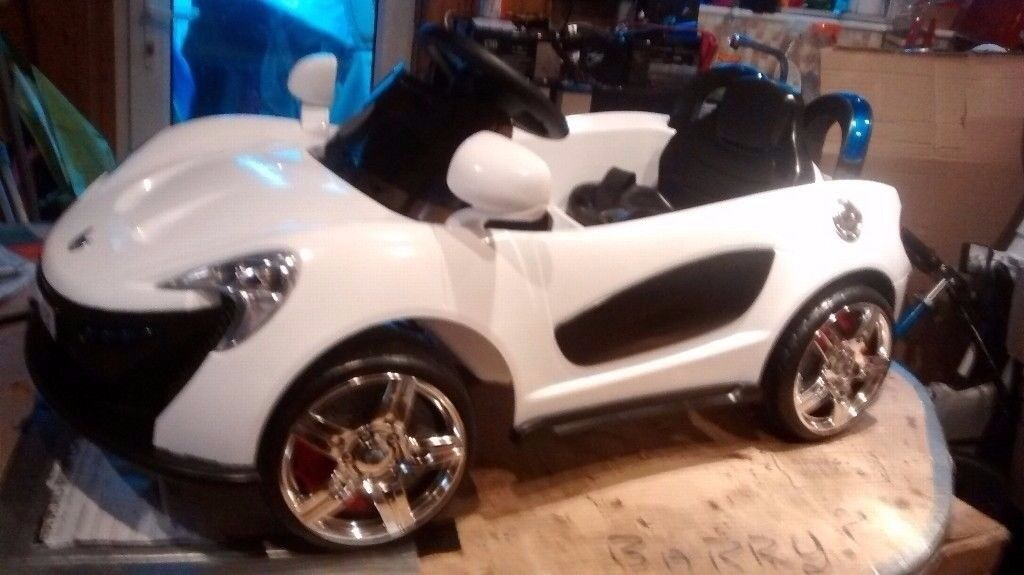 Electric ride on car: 12 volt twin speed sports coupe