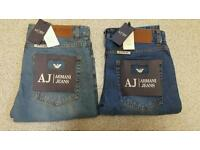 **Armani Jean's Size : 32 /34/36 Brand New With Tags **