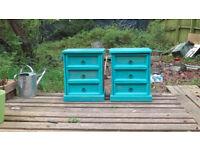 set of bedside drawer chests