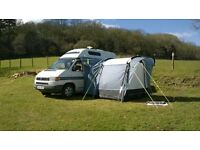 sunncamp silhouette 225 driveaway awning fits vw t4 t5