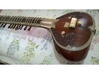 Sitar Indian musical instrument