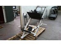 Plate loaded 45 degree leg press Exigo similar to Life Fitness Hammer strength VGC £650