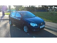 VOLXSWAGEN POLO 2008 57 1.2 MATCH 5 DOOR HATCHBACK MANUAL, LONG MOT, 1695