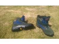 john Karrimor Gore-tex walking boots size 7 or 41, worn twice.