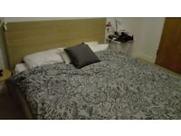 Ikea Malm Double bed less than 3 years old -excellent conditions - URGENT!