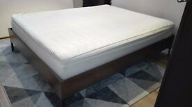 King Size Mattress and Base for sale - Good condition