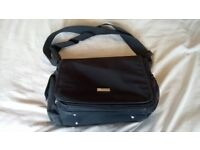 Black Nappy Changing Bag