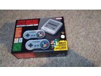 New Nintendo SNES Classic Mini Console with 2 Controllers - Boxed and Unopened