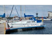 Moody 28 Crusing Yacht 6 Berth in excellent condition - Location Ardrossan