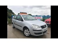 2006 56 VW POLO 1.2 E -3DR HATCHBACK - 82K -FULL 12 MONTHS MOT-15 MONTHS FREE WARRANTY- CHEAP TO RUN