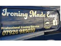 Ironing Made Easy Ipswich professional ironing service