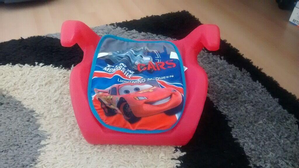 Lightning Mcqueen Booster Car Seat Cars Lightning Mcqueen Booster Seat