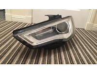 Audi A3 sline sportback 2014 xenon headlight assembly NS/passenger side