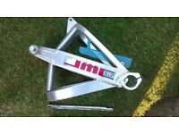 Yamaha RD250LC RD350LC RD 250 350 LC 4L0 4L1 JMC Aluminium Deep Braced Box Section Swinging Arm