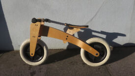 Wishbone Trike / Balance Bike - Excellent Condition