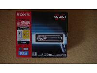 Sony CDX-GT610U CD / MP3 / WMA player with USB, REMOTE + stalk & amp