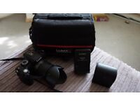 Lumix G10 Camera and Bag. 12megapixels