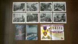 the purple heart ' original ( full set of 8 ) f.o.h cinema stills