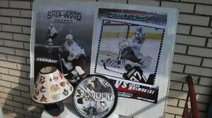 lot 3 NHL HOCKEY Horloge Posters Sidney Crosby J Leclair