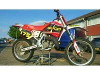 Honda cr 125 1990 evo class