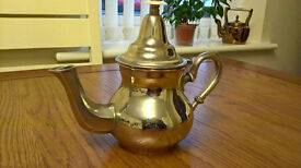 An Antique Thieres Kouther Silver Teapot Arabic/African.