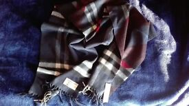 Burberry never used cashmere scarf
