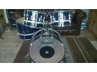 Vintage Premier Resonator Drum Kit