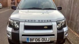Land Roover Freelander Turbo Diesel 2006 Full Service History