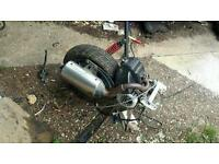 Peugeot streetfighter 2 100cc engine, shock,exhaust