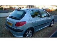 Peugeot 206 . New MOT and Service Jan'17. Great Runner. Few small scuffs, see photos.