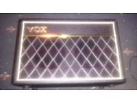 Vox Pathfinder 10w Bass Practice Amp (Also good for electric guitar)