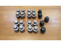 Range Rover / VW Transporter T5 wheel nuts and locking nuts