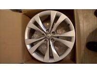 Vauxhall insignia 20 alloy wheel