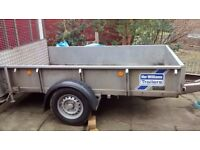 2014 8x5 Ifor Williams trailer S/A 1400kg