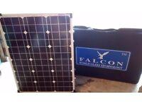 Falcon 100 watt portable Solar Panel