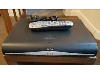 Sky+HD box plus remote and power cord.
