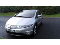 Honda Civic 2.2 C-TDI Sport,11 months MOT,105000 milage,3 owners,good condition,drivre very well.